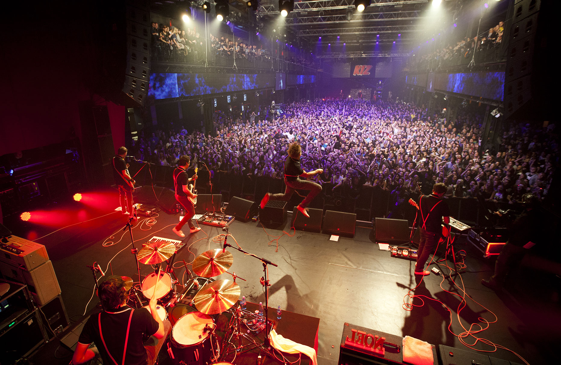 © Dirk Mathesius, Kraftklub performs at the Red Bull Sound Clash at Palladium in Cologne, Germany on December 07th, 2012
